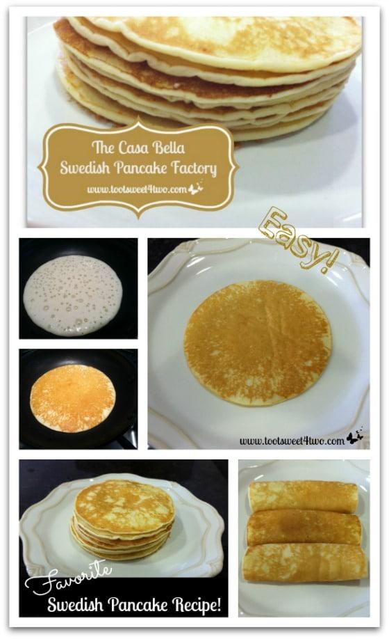 The Casa Bella Swedish Pancake Factory Toot Sweet 4 Two