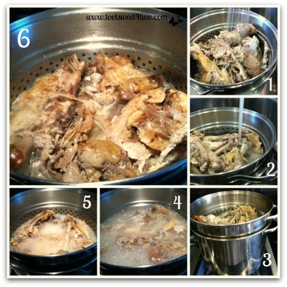 How To Boil Chicken Carcass For Broth