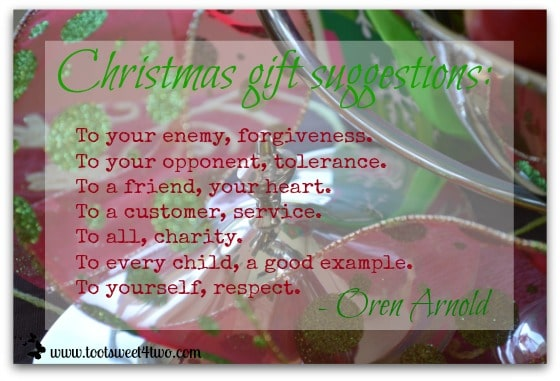 Christmas Gift Suggestions & Christmas Gift Suggestions - Toot Sweet 4 Two