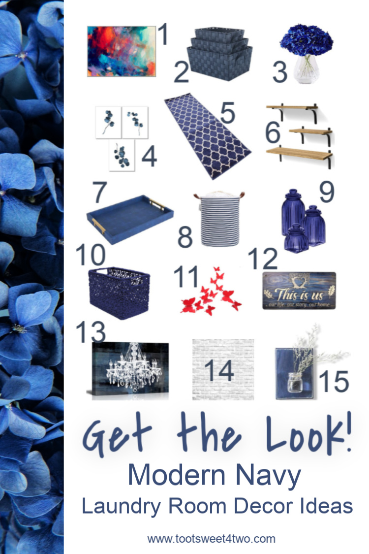 42 Things In Your Laundry Room Modern Navy Look Toot Sweet 4 Two