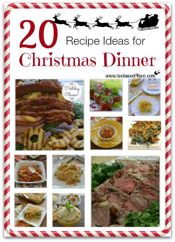 20 Recipe Ideas for Christmas Dinner