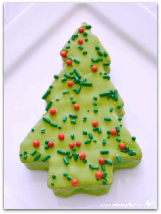 Little Debbie Red Velvet Christmas Tree Cake Toot Sweet 4 Two