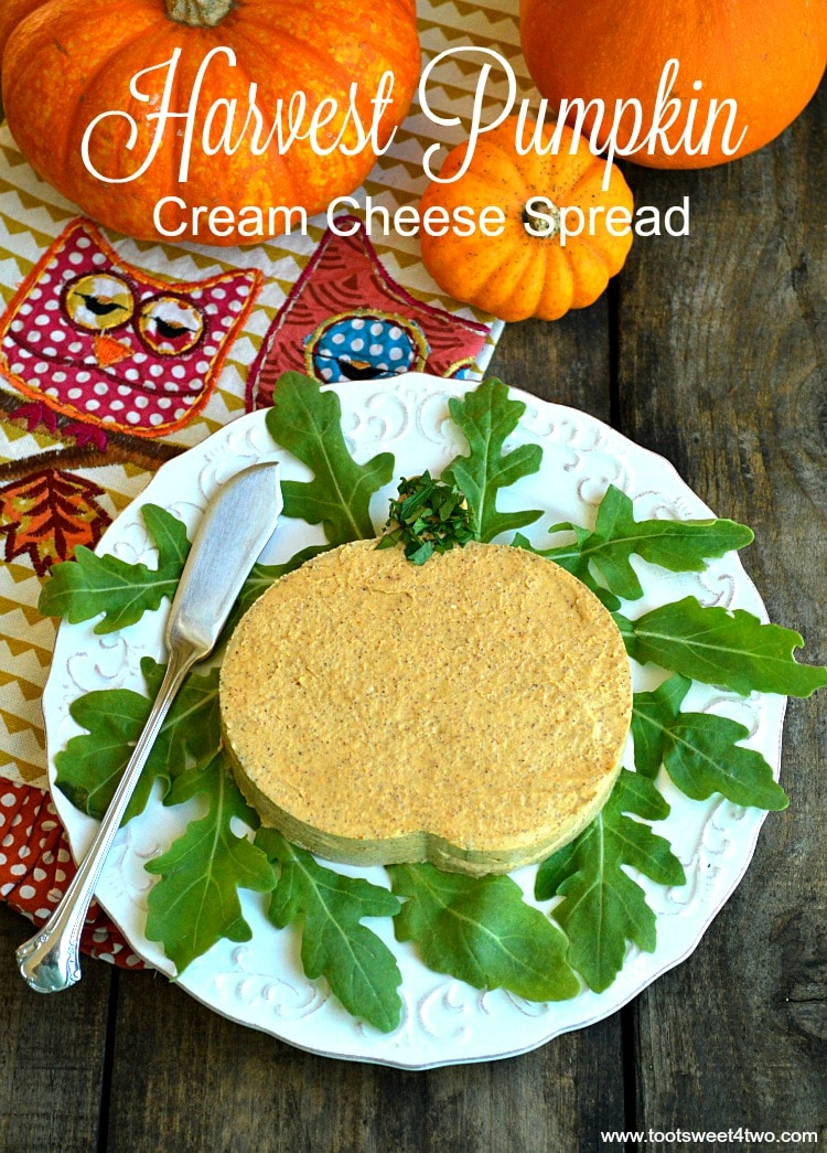 Autumn Spiced Harvest Pumpkin Cream Cheese Spread Toot Sweet 4 Two