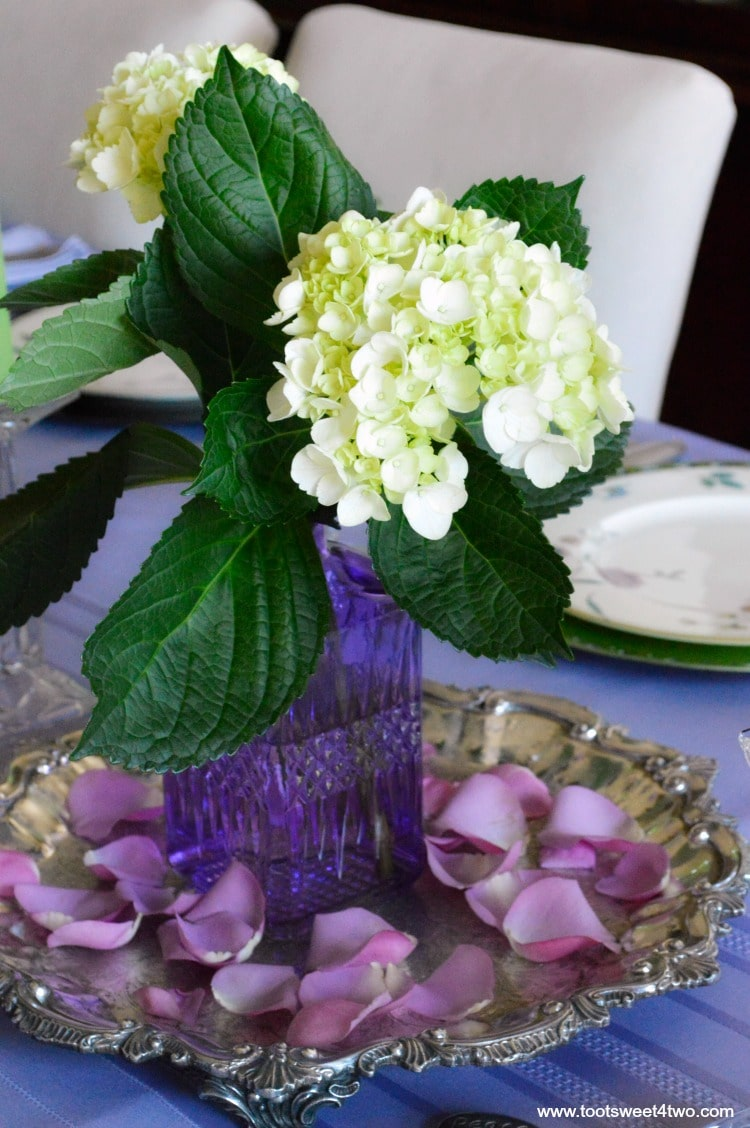 Dining Table Decor Ideas: Purple and Green - Toot Sweet 4 Two